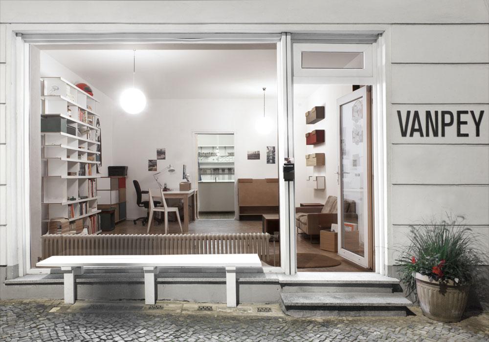 zu Besuch bei Vanpey in Berlin, Möbelmanufaktur